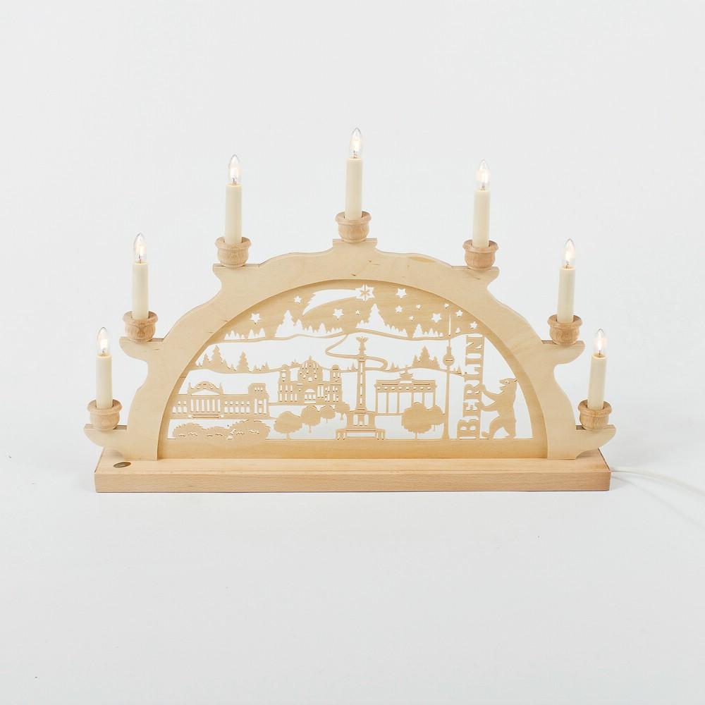 Holz-Schwibbogen Berlin - 50 cm