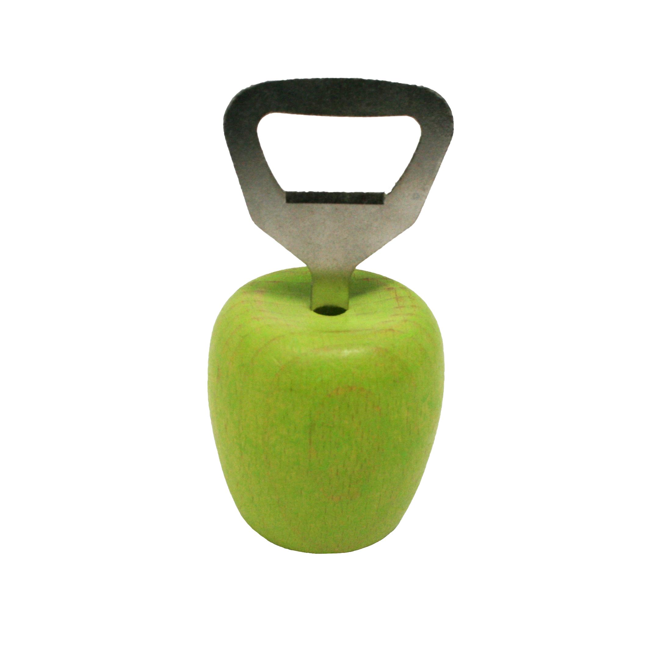 """Flaschenöffner """"grüner Apfel"""""""