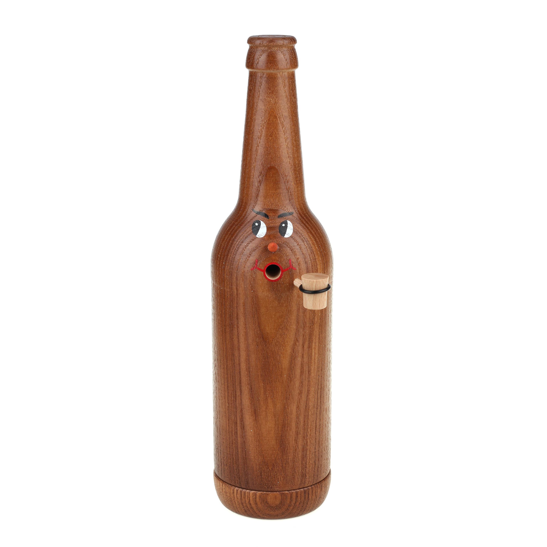 Räucherflasche Bier Longneck 0,5 - braun