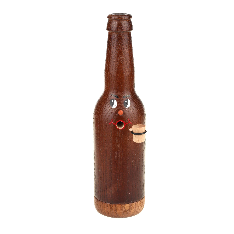 Räucherflasche Bier Longneck 0,33 - braun