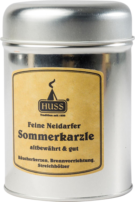 """Sommerkarzle  Räucherkerzen  """"Blechdose"""""""