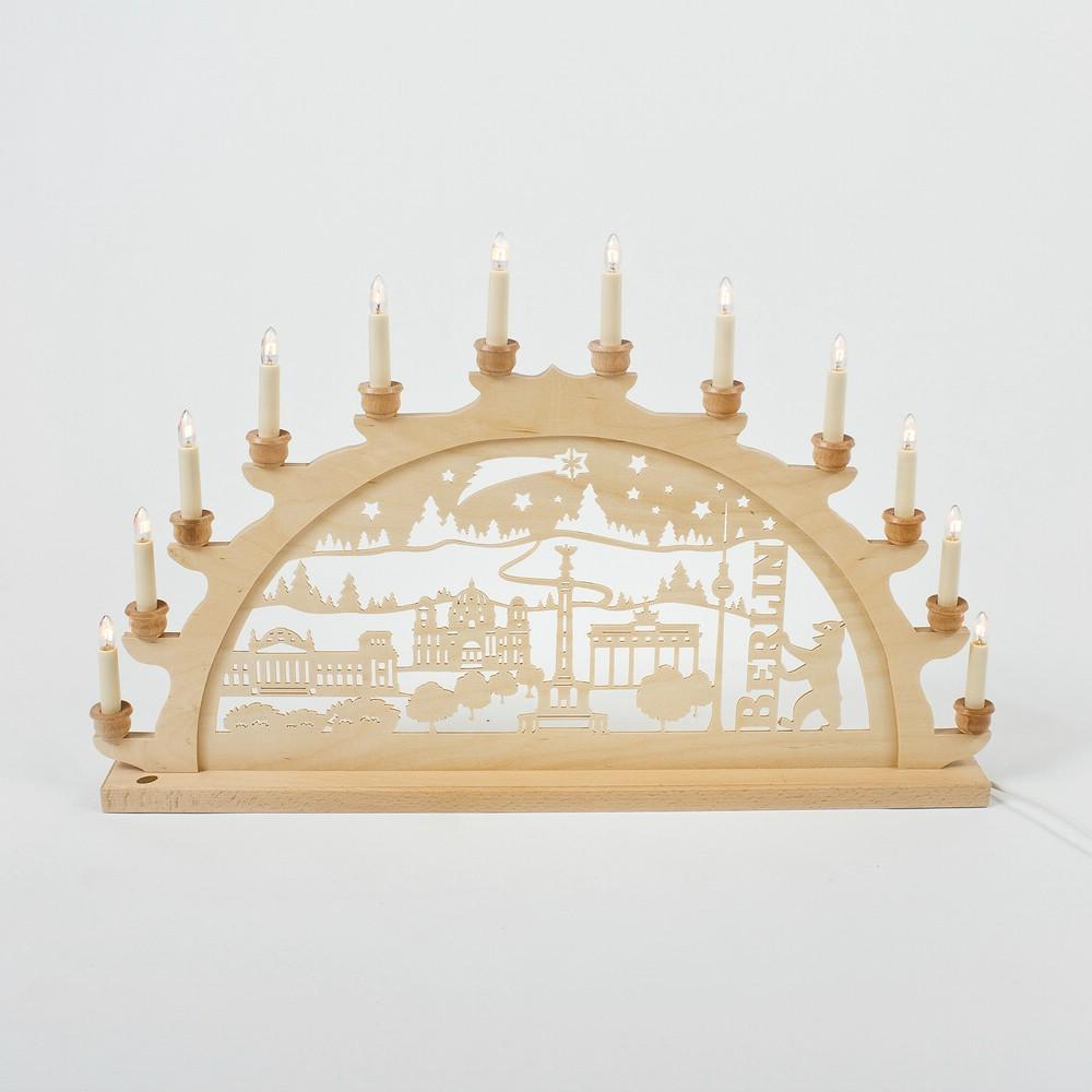 Holz-Schwibbogen Berlin - 70 cm