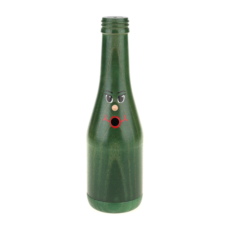 Räucherflasche Sekt 0,2 - grün