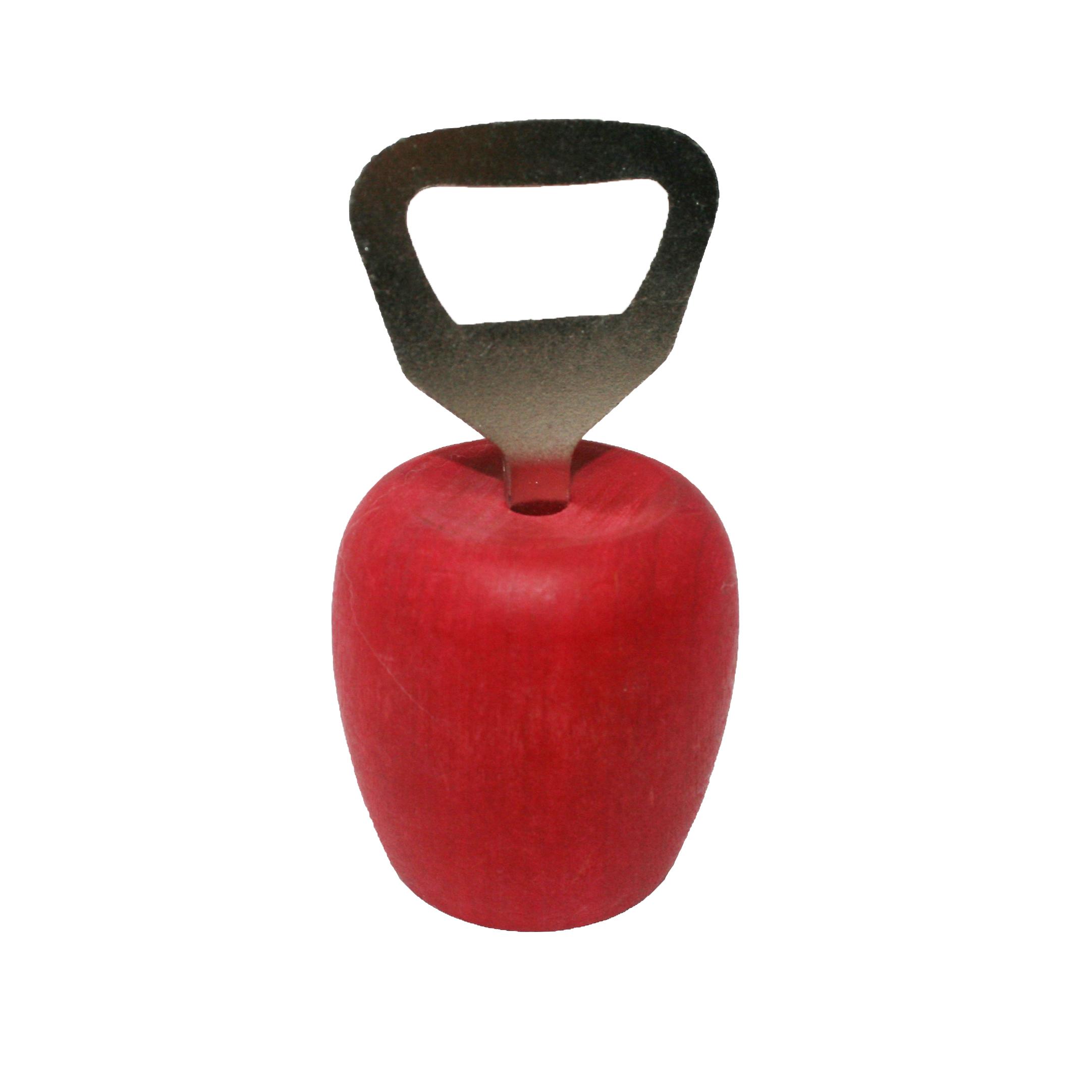 """Flaschenöffner """"roter Apfel"""""""