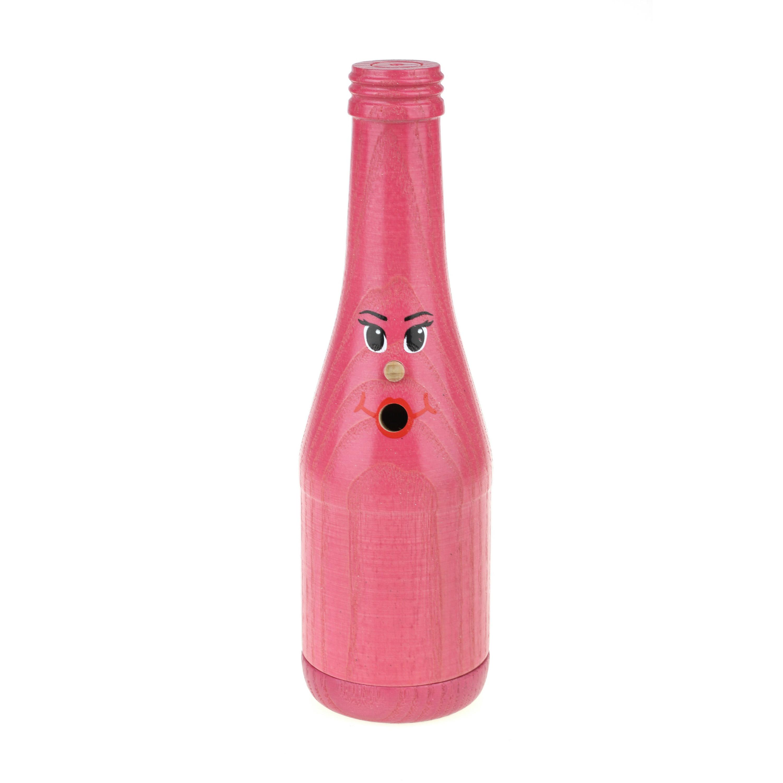 Räucherflasche Sekt 0,2 - pink